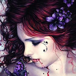 Пазл онлайн: Красота и кровь