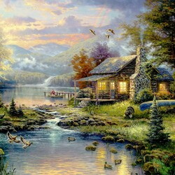 Пазл онлайн: Natures Paradise \ Природный рай