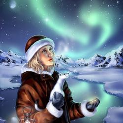 Пазл онлайн: Северные огни/Northern Lights
