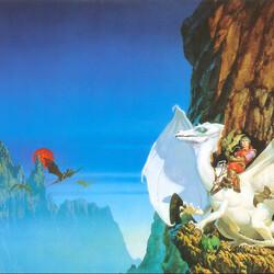 Пазл онлайн: Белый дракон