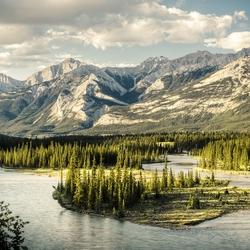 Пазл онлайн: Национальный парк Джаспер