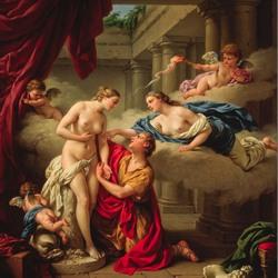 Пазл онлайн: Пигмалион и Галатея