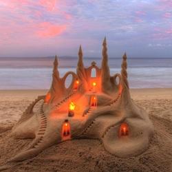 Пазл онлайн: Замок из песка