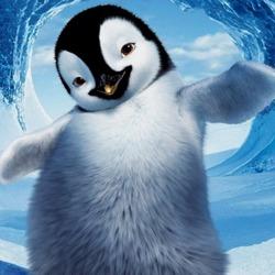 Пазл онлайн: Пингвиненок