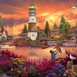 Пазл онлайн: Сказочная бухта