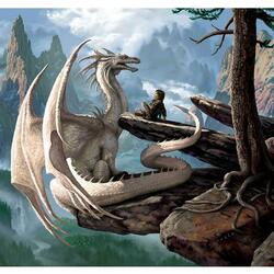 Пазл онлайн: С драконом