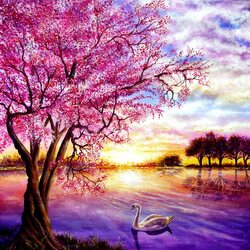 Пазл онлайн: Сплетённое цветение