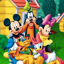 Пазл онлайн: Микки и его друзья