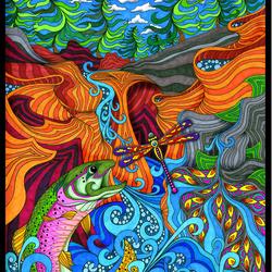 Пазл онлайн: Танец реки/River Dance