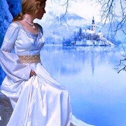 Пазл онлайн: Зимняя невеста