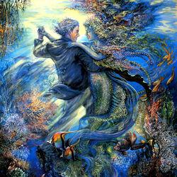 Пазл онлайн: Танец на глубине