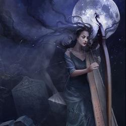 Пазл онлайн: Мелодия души