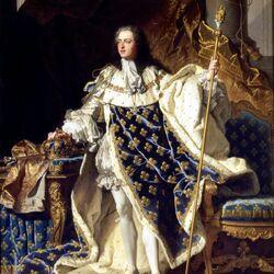 Пазл онлайн: Портрет Людовика XV