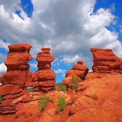 Пазл онлайн: Красные скалы