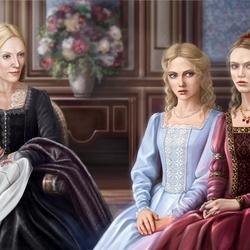 Пазл онлайн: Луиза, Селина, Айрис