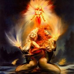 Пазл онлайн: Ритуал