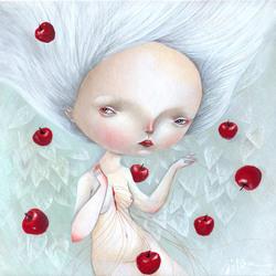 Пазл онлайн: Яблочки