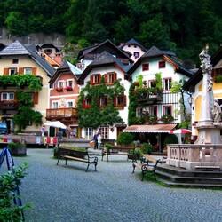 Пазл онлайн: Хальштадт. Австрия