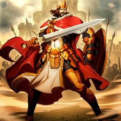 Пазл онлайн: Король Артур