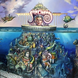 Пазл онлайн: Подводный город