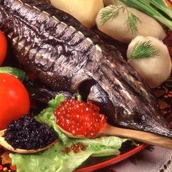 Пазл онлайн: Рыбка да икорка