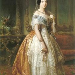 Пазл онлайн: Луиза Фернанда де Бурбон, герцогиня де Монпансье