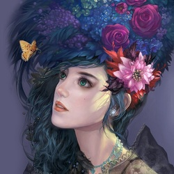 Пазл онлайн: Флора