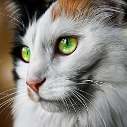 Пазл онлайн: Кошка