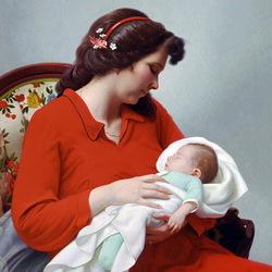 Пазл онлайн: Новорожденный