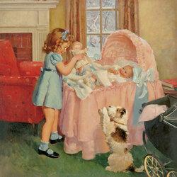 Пазл онлайн: Маленькая сестричка