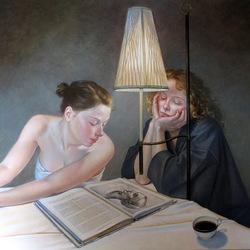 Пазл онлайн: За чтением