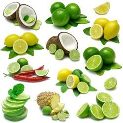 Пазл онлайн: Лайм и лимон