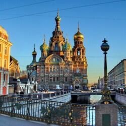 Пазл онлайн: Санкт Петербург. Спас на крови
