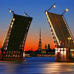 Пазл онлайн: Санкт Петербург
