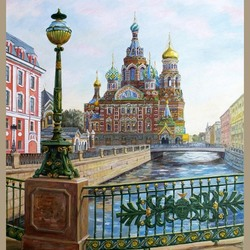 Пазл онлайн: Храм Спаса на Крови (Воскресения Христова), Санкт-Петербург