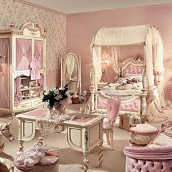 Пазл онлайн: Комната для принцессы