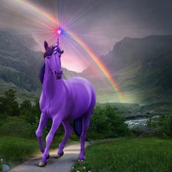Пазл онлайн: Несущий радугу