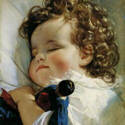 Пазл онлайн: Портрет принцессы Марии Франциски Лихтенштейн