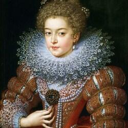 Пазл онлайн: Изабелла Французская, королева Испании