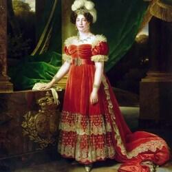 Пазл онлайн: Мария-Тереза-Шарлотта Французская, герцогиня Ангулемская