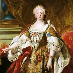 Пазл онлайн: Изабелла Фарнезе, королева Испании