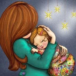 Пазл онлайн: Мамины руки