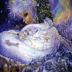 Пазл онлайн: Snow Queen/Снежная королева