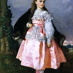 Пазл онлайн: Консепсьон Серрано, будущая графиня Сантовенья