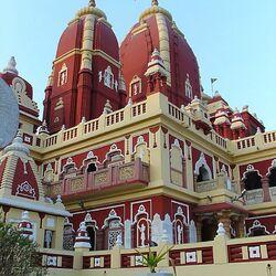 Пазл онлайн: Храм Лакшми Нараян