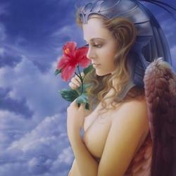 Пазл онлайн: Ангел мира