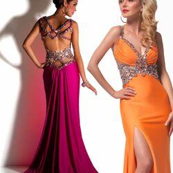 Пазл онлайн: Дизайнерские платья