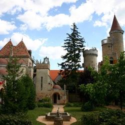 Пазл онлайн: Замок Бори. Венгрия