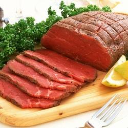 Пазл онлайн: Мясо со специями