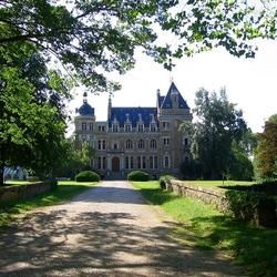 Пазл онлайн: Замок Меридон. Франция
